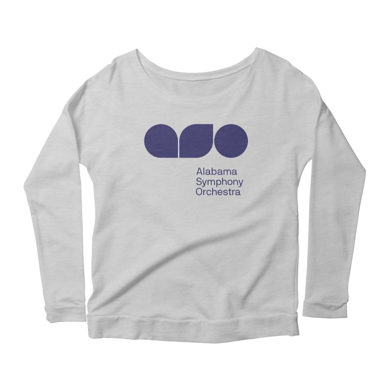 Solid Color Women's Scoop Neck Longsleeve T-Shirt by Alabama Symphony Orchestra Goods & Apparel