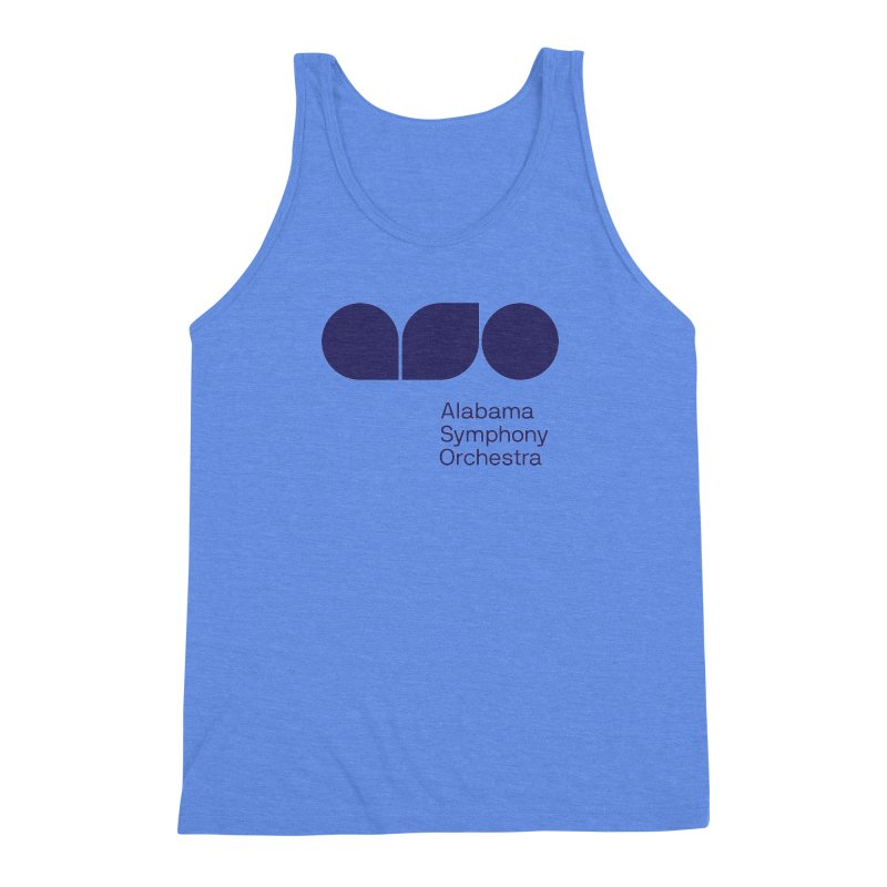 Solid Color Men's Triblend Tank by Alabama Symphony Orchestra Goods & Apparel
