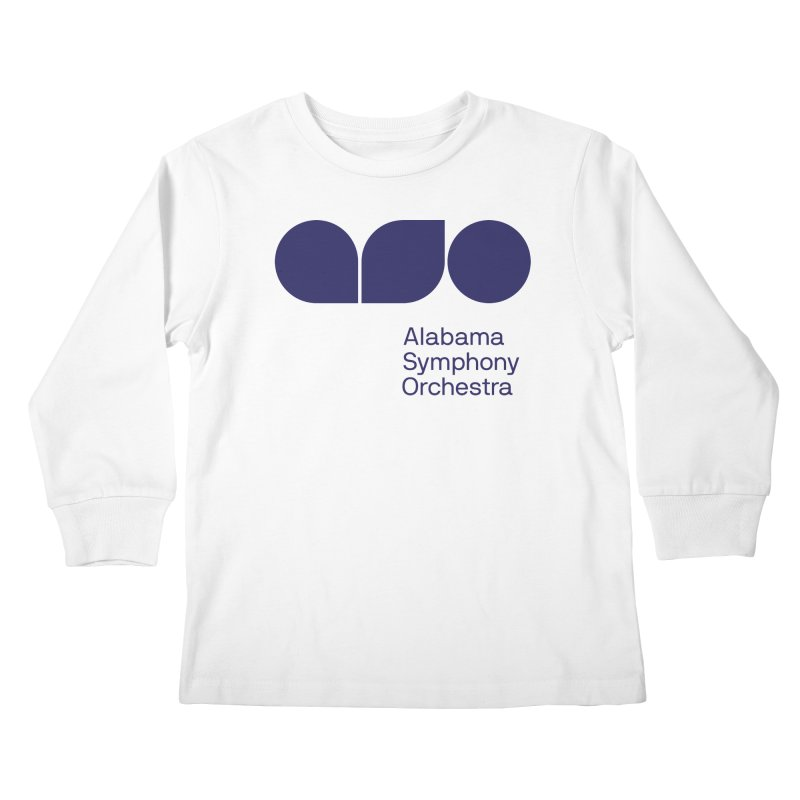 Solid Color Kids Longsleeve T-Shirt by Alabama Symphony Orchestra Goods & Apparel