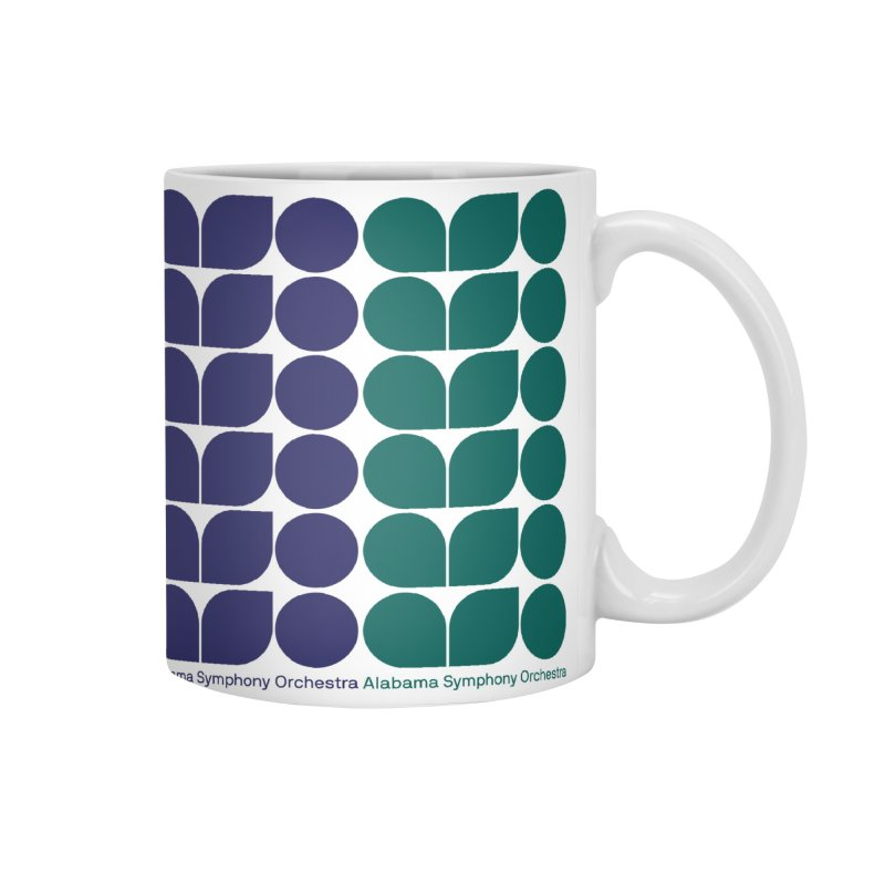 Logo Pattern Accessories Mug by Alabama Symphony Orchestra Goods & Apparel