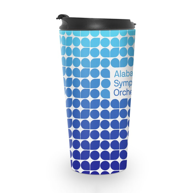 Logo Pattern Accessories Travel Mug by Alabama Symphony Orchestra Goods & Apparel