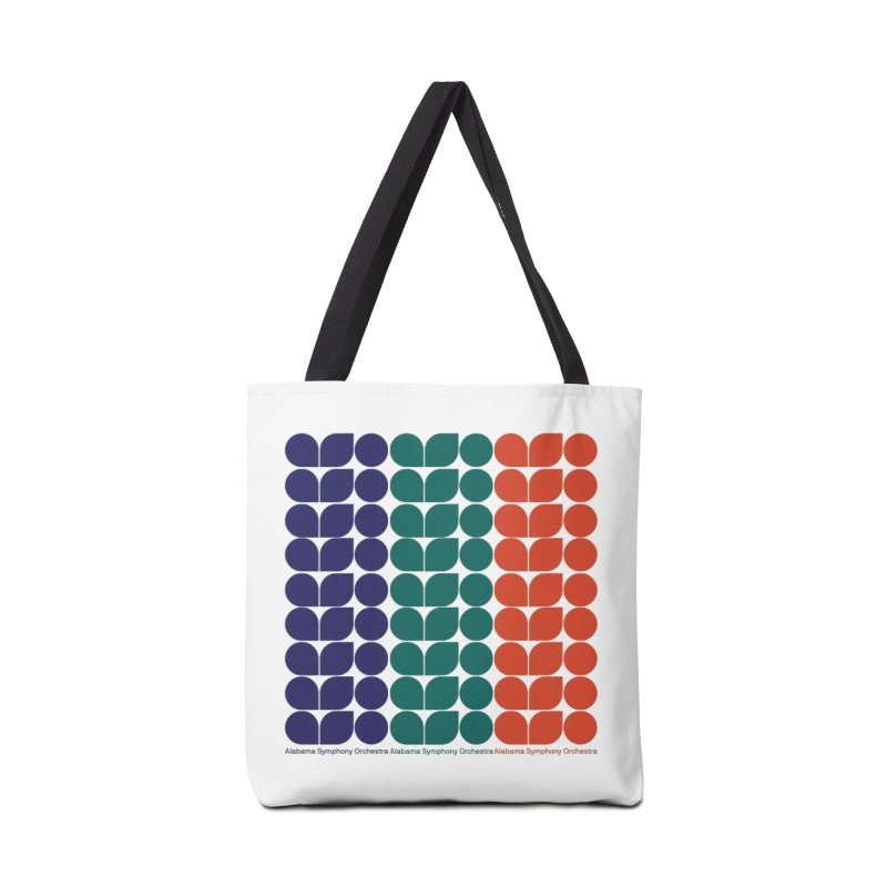 Logo Pattern Accessories Tote Bag Bag by Alabama Symphony Orchestra Goods & Apparel