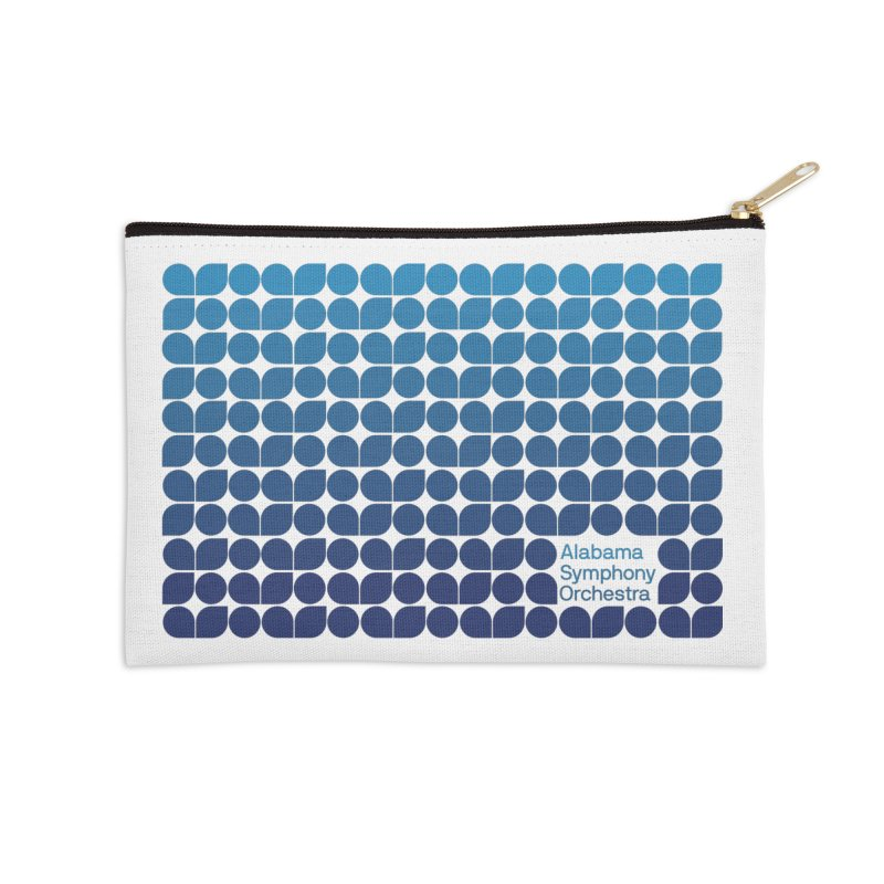 Logo Pattern Accessories Zip Pouch by Alabama Symphony Orchestra Goods & Apparel