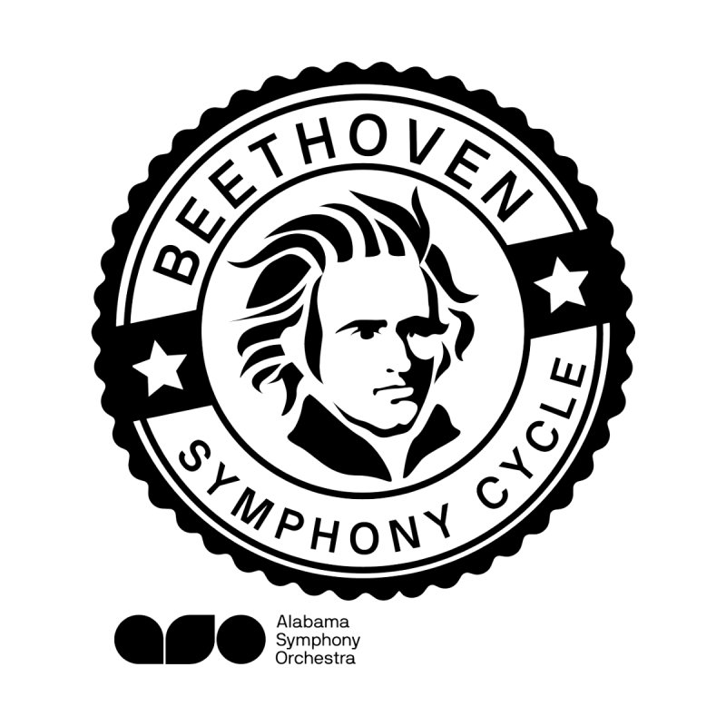 Beethoven Tee by Alabama Symphony Orchestra Goods & Apparel