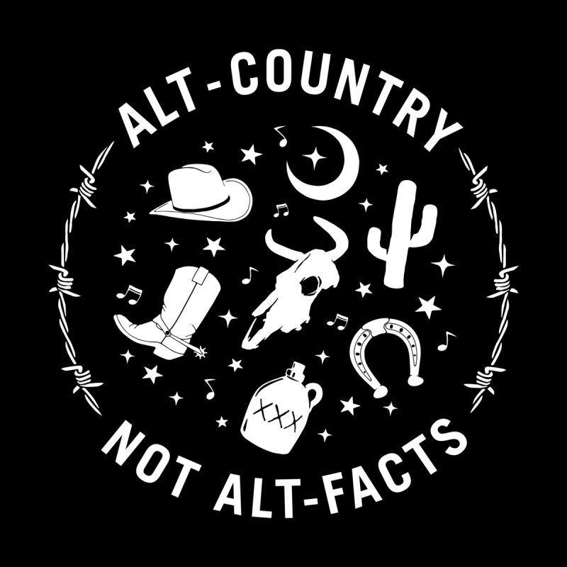 Alt-Country, Not Alt-Facts Home Tapestry by Alt-Country, Not Alt-Facts