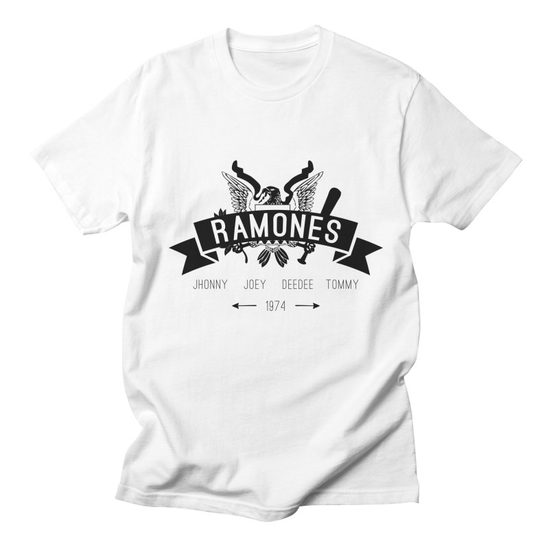 RAMONES HIPSTERIZED Men's T-Shirt by Alter Clothing