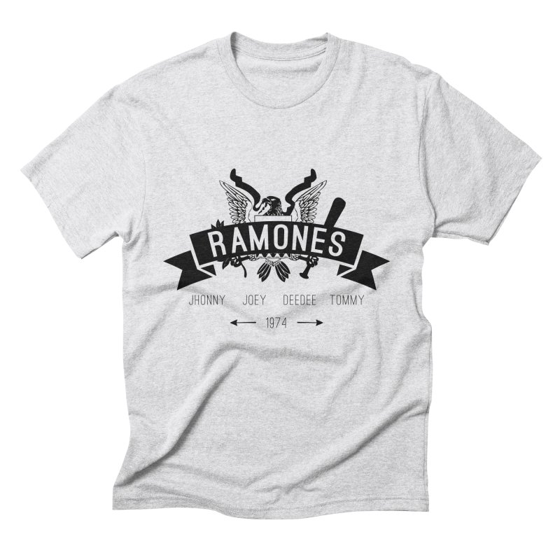 RAMONES HIPSTERIZED Men's Triblend T-shirt by Alter Clothing