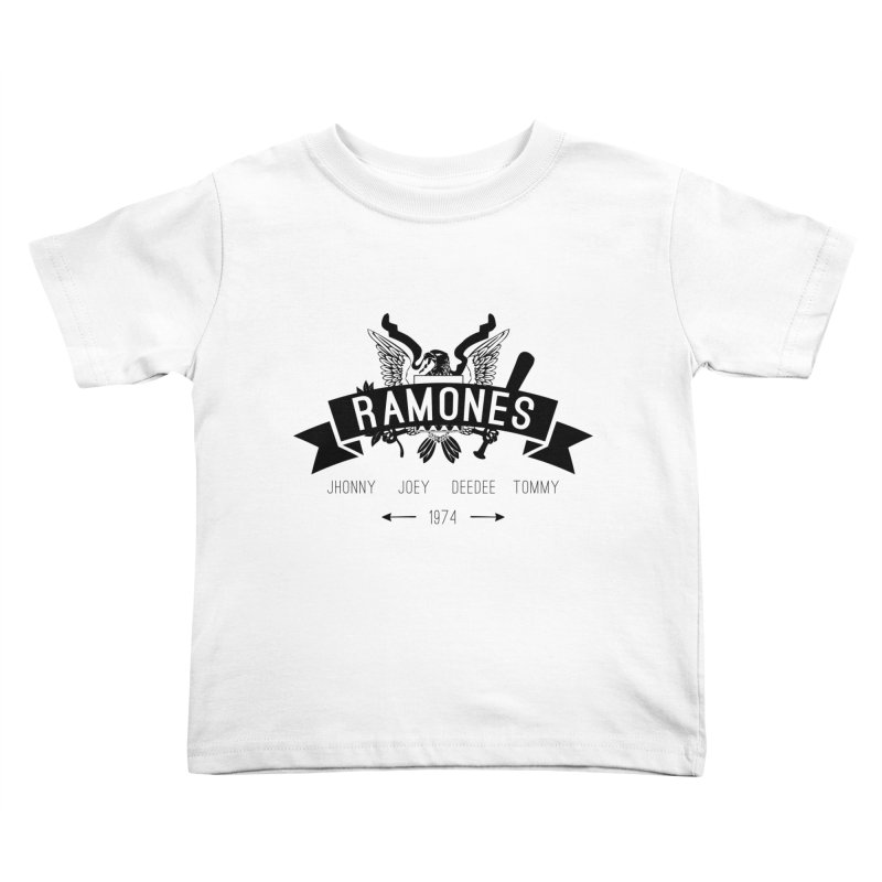RAMONES HIPSTERIZED Kids Toddler T-Shirt by Alter Clothing