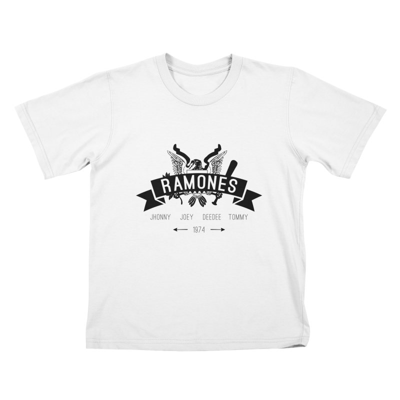 RAMONES HIPSTERIZED Kids T-Shirt by Alter Clothing