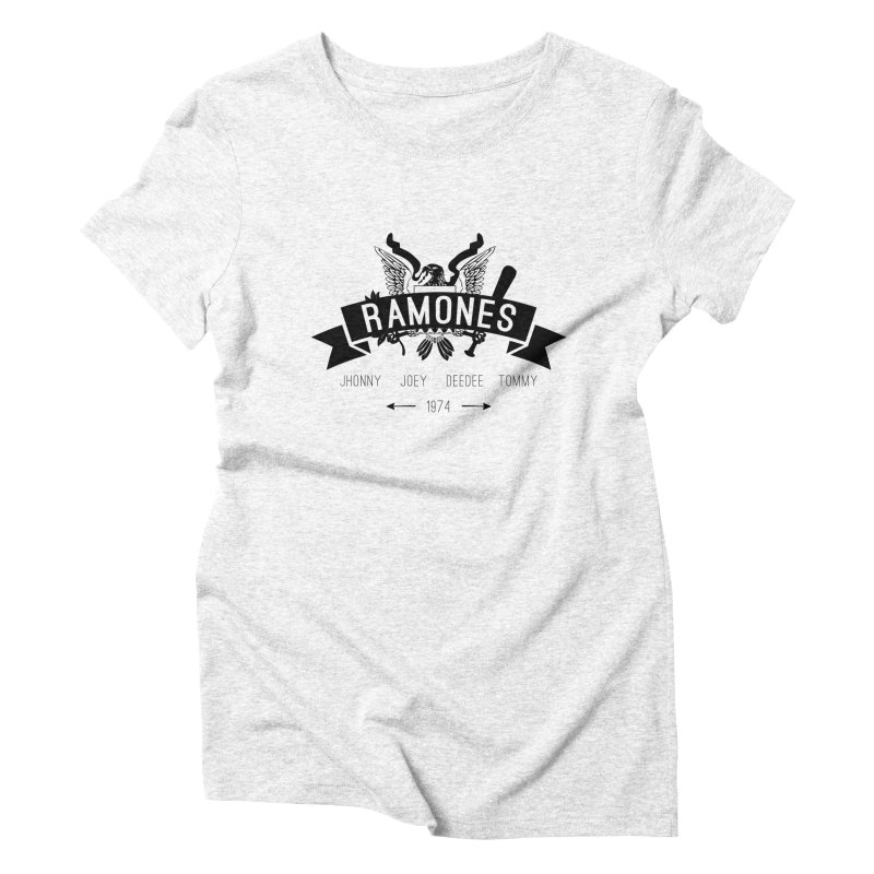 RAMONES HIPSTERIZED Women's Triblend T-shirt by Alter Clothing