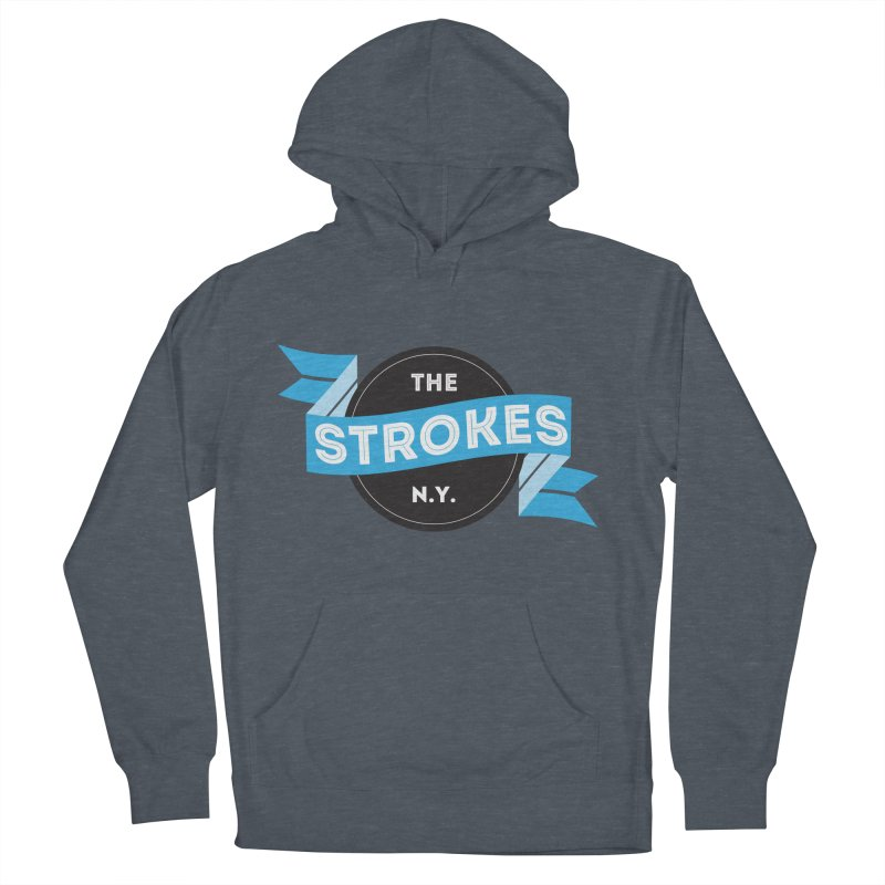 THE STROKES NY Men's Pullover Hoody by Alter Clothing