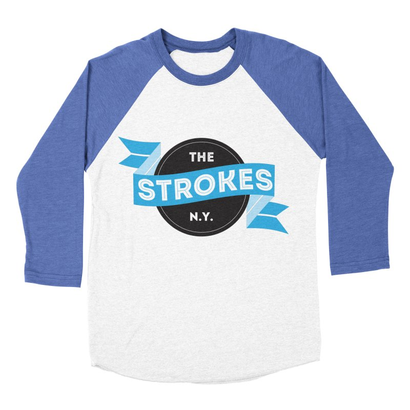 THE STROKES NY Men's Baseball Triblend T-Shirt by Alter Clothing