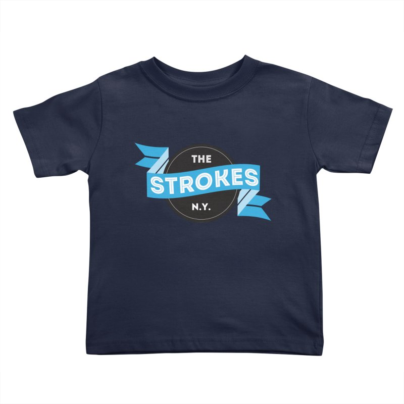 THE STROKES NY Kids Toddler T-Shirt by Alter Clothing