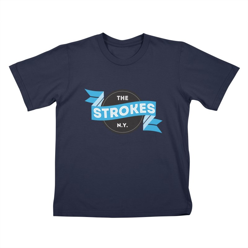 THE STROKES NY Kids T-Shirt by Alter Clothing