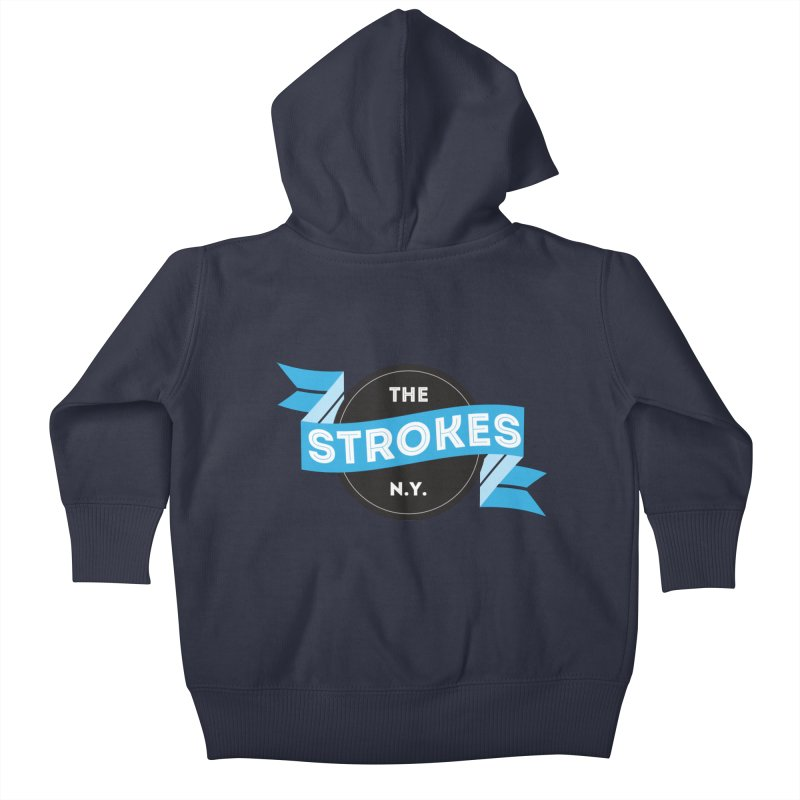 THE STROKES NY Kids Baby Zip-Up Hoody by Alter Clothing