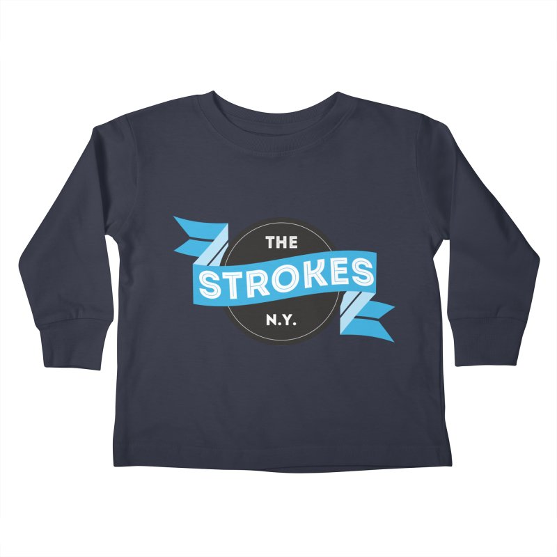 THE STROKES NY Kids Toddler Longsleeve T-Shirt by Alter Clothing