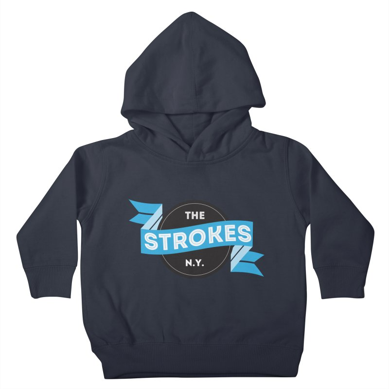 THE STROKES NY Kids Toddler Pullover Hoody by Alter Clothing