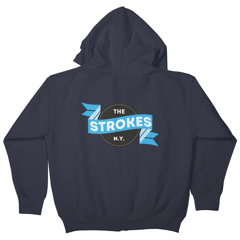 THE STROKES NY Kids Zip-Up Hoody by Alter Clothing