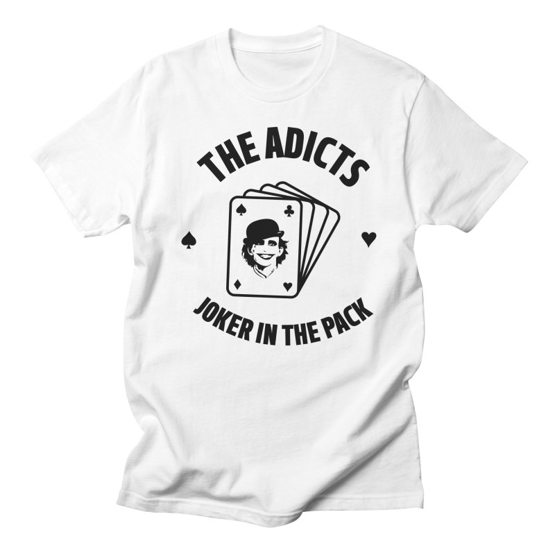 The Adicts - Joker in the pack Men's T-Shirt by Alter Clothing