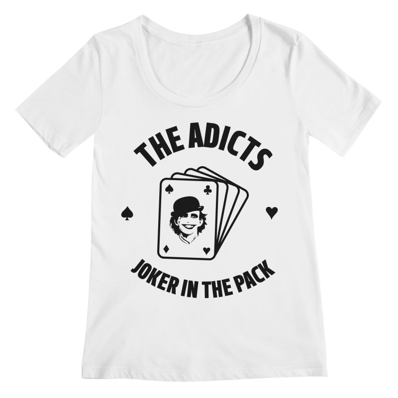 The Adicts - Joker in the pack Women's Scoopneck by Alter Clothing