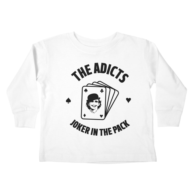 The Adicts - Joker in the pack Kids Toddler Longsleeve T-Shirt by Alter Clothing