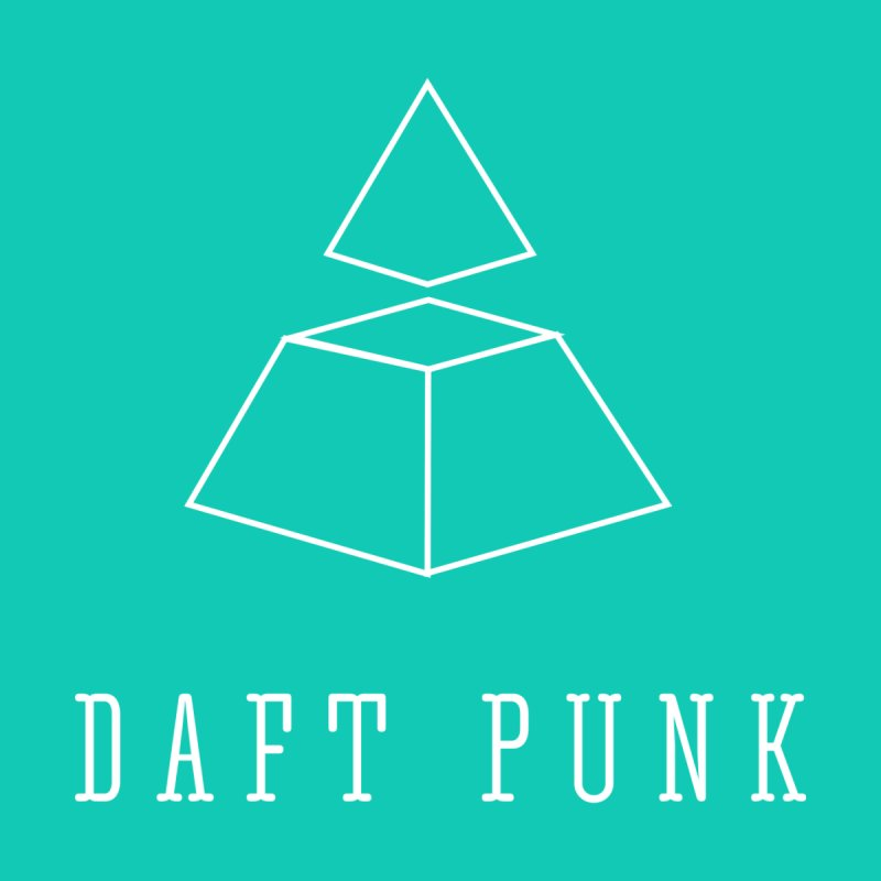 DAFT PUNK HIPSTERIZED Men's T-shirt by Alter Clothing