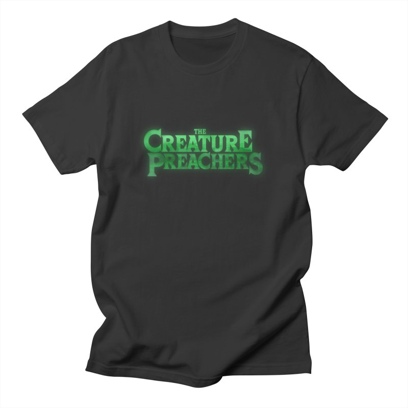 Creature Preachers / 80s Horror Logo Men's T-Shirt by Altered State of Reverb Artist Shop