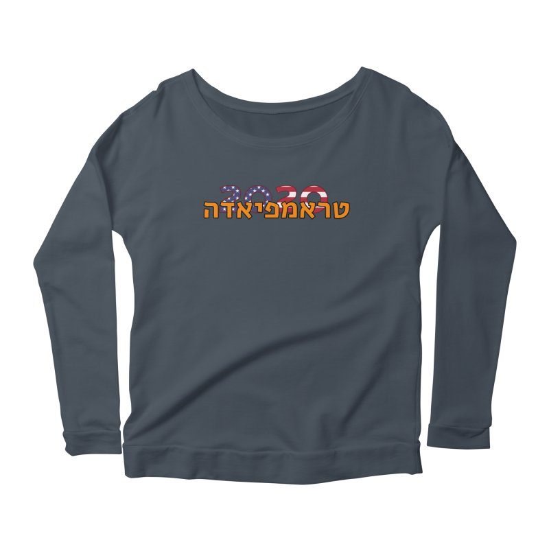 Trumpiada 2020 Women's Scoop Neck Longsleeve T-Shirt by ALTNEU's Artist Shop