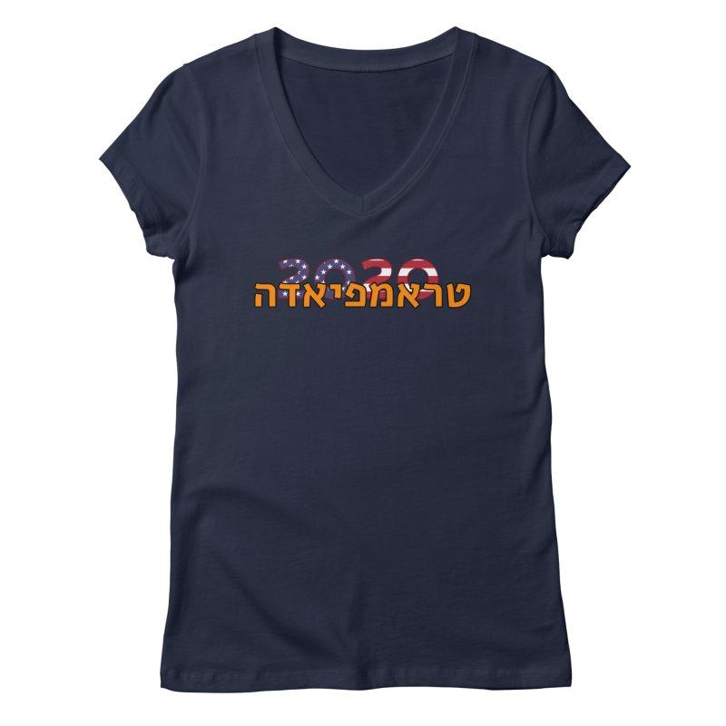 Trumpiada 2020 Women's Regular V-Neck by ALTNEU's Artist Shop