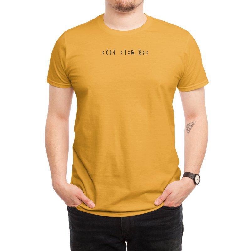 Fork Bomb Men's T-Shirt by ALTNEU's Artist Shop