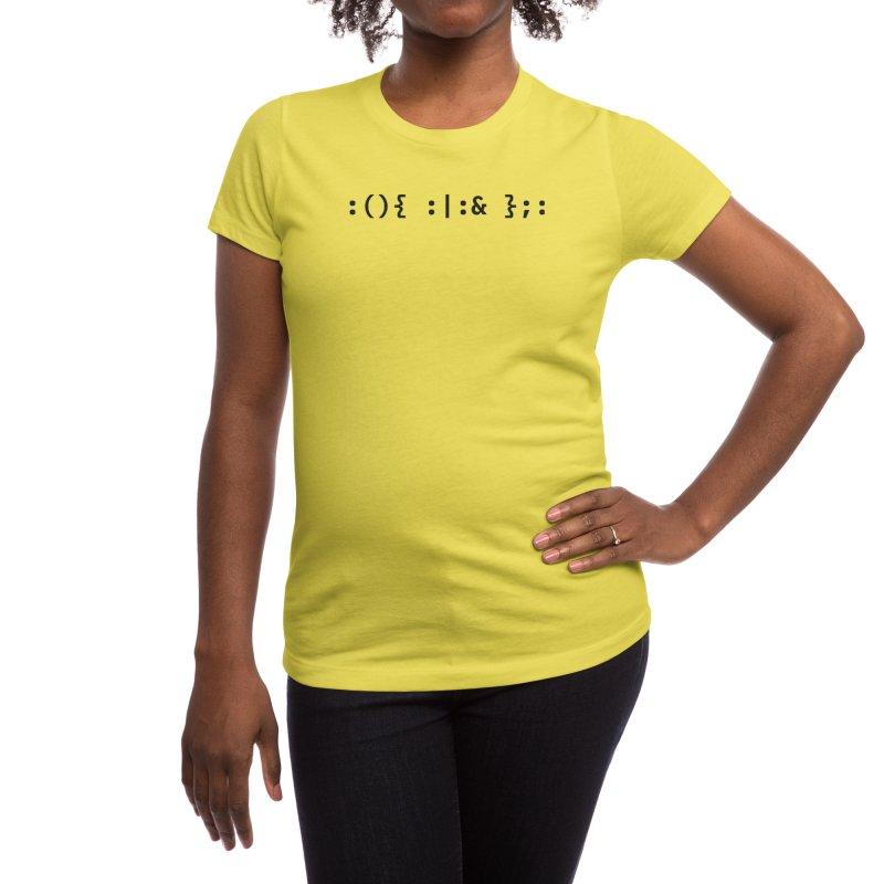 Fork Bomb Women's T-Shirt by ALTNEU's Artist Shop