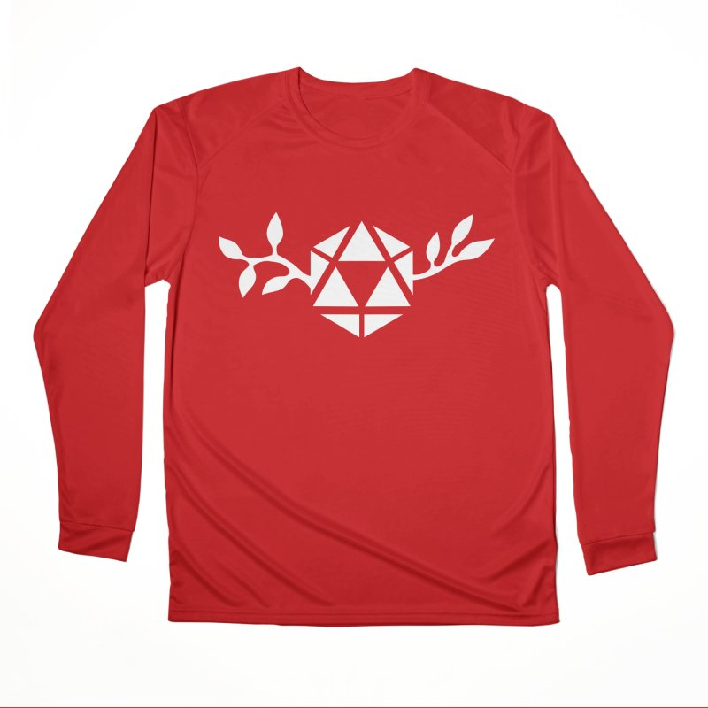 Natural 20 Men's Performance Longsleeve T-Shirt by ALuckyMuse