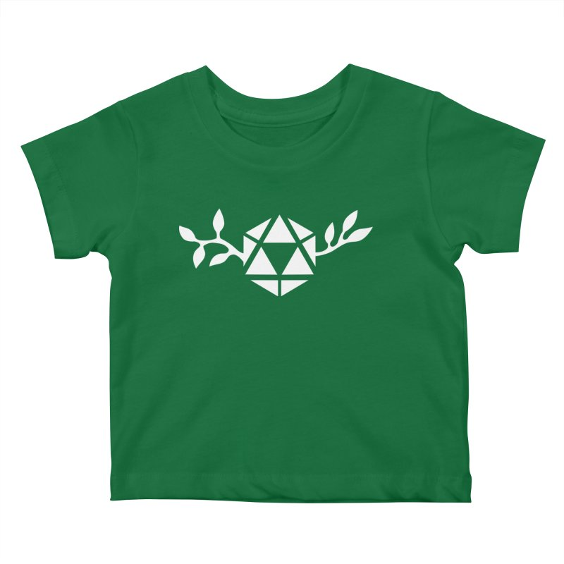 Natural 20 Kids Baby T-Shirt by ALuckyMuse