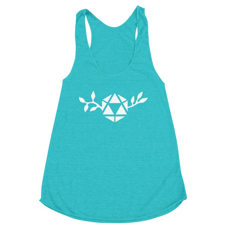 Natural 20 Women's Racerback Triblend Tank by ALuckyMuse