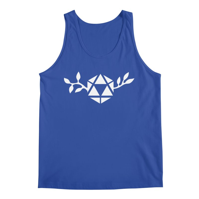 Natural 20 Men's Tank by ALuckyMuse