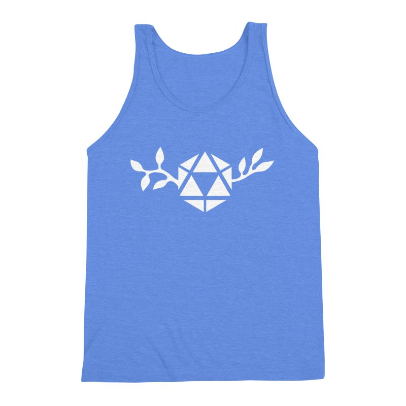 Natural 20 Men's Triblend Tank by ALuckyMuse