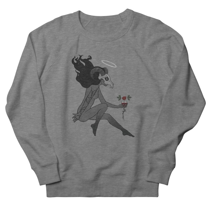 Ambition Women's French Terry Sweatshirt by ALuckyMuse