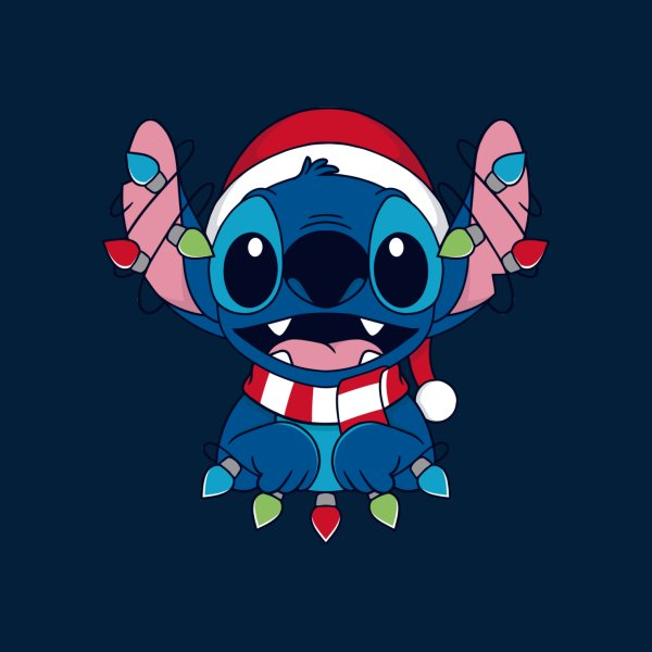 Design for Stitch Christmas Lights