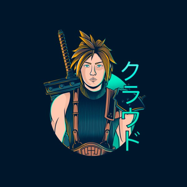 Design for Cloud Strife - Soldier 1st Class