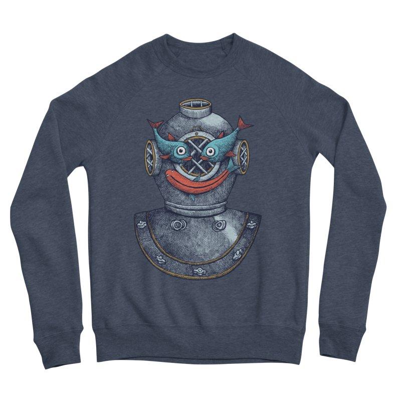 A happy travel under the sea Men's Sweatshirt by alvarejo's Shop