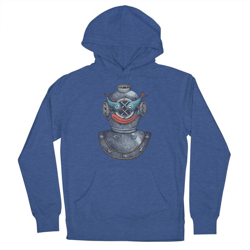 A happy travel under the sea Women's Pullover Hoody by alvarejo's Shop
