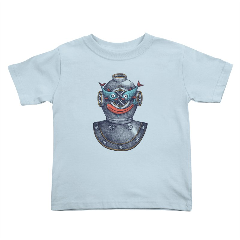 A happy travel under the sea Kids Toddler T-Shirt by alvarejo's Shop