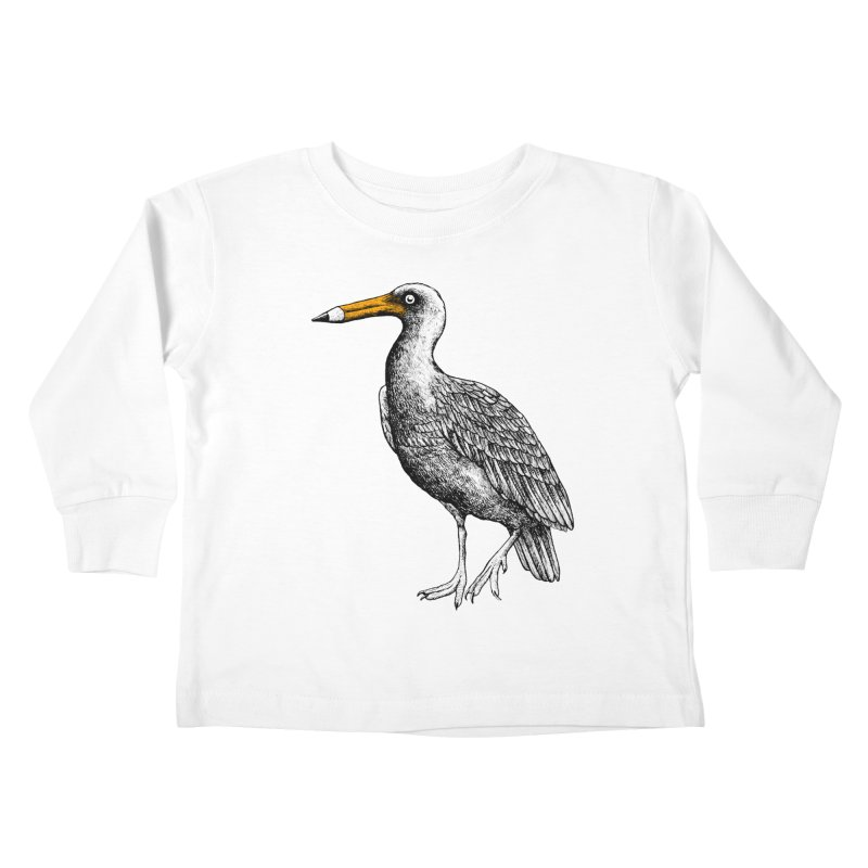 Dra-wing Kids Toddler Longsleeve T-Shirt by alvarejo's Shop