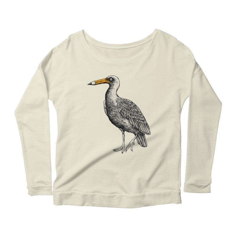 Dra-wing Women's Scoop Neck Longsleeve T-Shirt by alvarejo's Shop