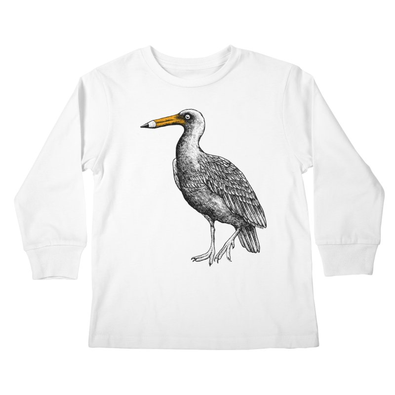 Dra-wing Kids Longsleeve T-Shirt by alvarejo's Shop