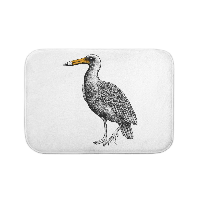 Dra-wing Home Bath Mat by alvarejo's Shop