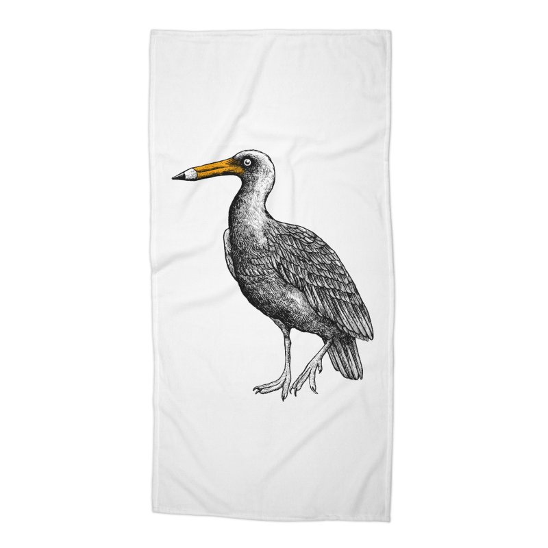 Dra-wing Accessories Beach Towel by alvarejo's Shop