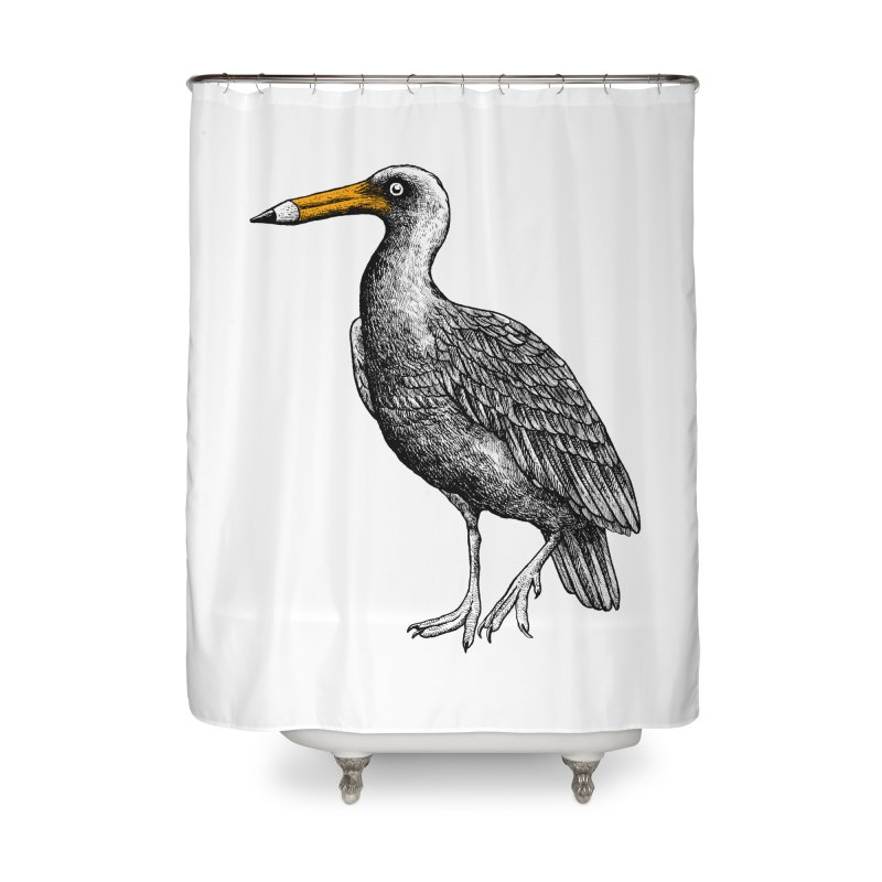 Dra-wing Home Shower Curtain by alvarejo's Shop