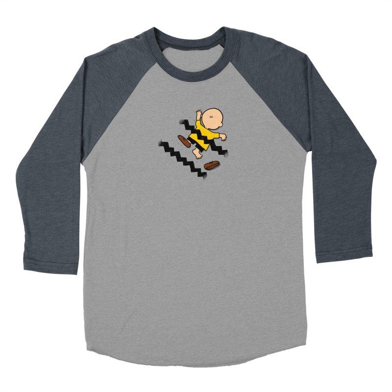 Oh Charlie! Women's Baseball Triblend Longsleeve T-Shirt by alvarejo's Shop