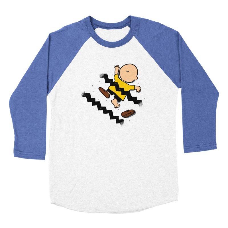 Oh Charlie! Men's Baseball Triblend Longsleeve T-Shirt by alvarejo's Shop